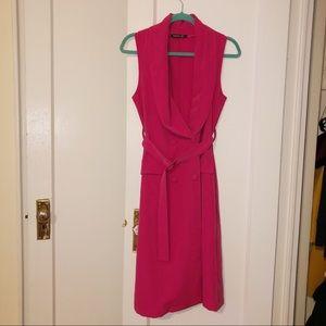 Fuschia Blazer Dress